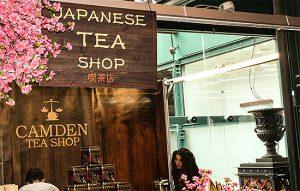 London flavoured tea