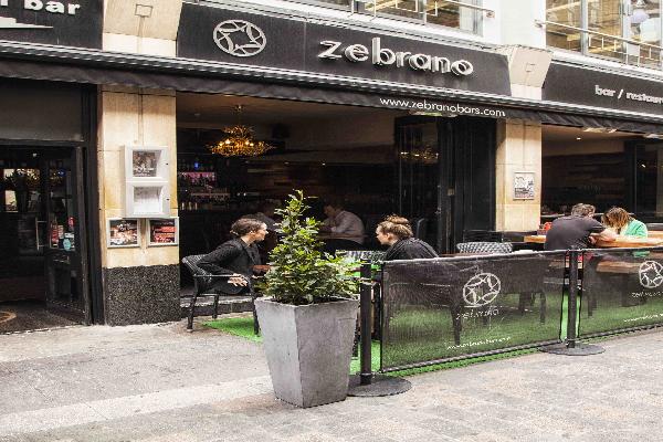 Carnaby Zebrano London Cocktail Bar Lounge
