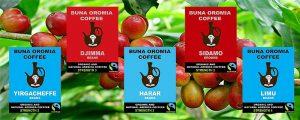 Buna Oromia Coffee Company Limited Organic Coffee Fairtrade Single-Origin Coffee Farmers London