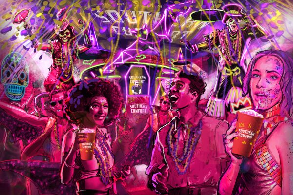 Southern Comfort's Halloween Ball with Cirque Du Soul